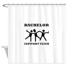 Bachelor Support Team Shower Curtain
