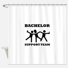 Bachelor Support Team Shower Curtain