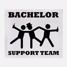Bachelor Support Team Throw Blanket