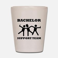 Bachelor Support Team Shot Glass