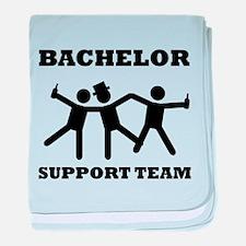 Bachelor Support Team baby blanket