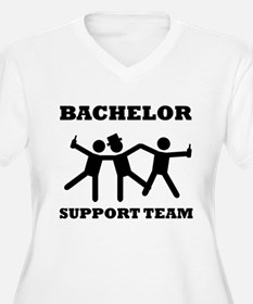 Bachelor Support Team Plus Size T-Shirt