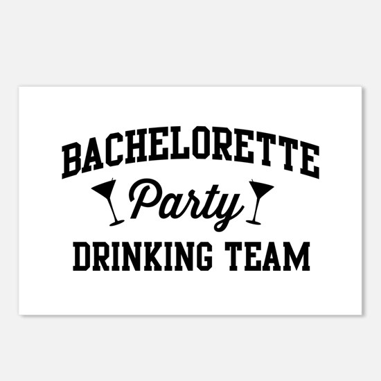 Bachelorette Party Drinking Team Postcards (Packag