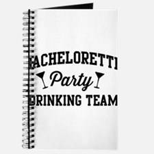 Bachelorette Party Drinking Team Journal