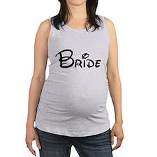 Bride Maternity Tank Top