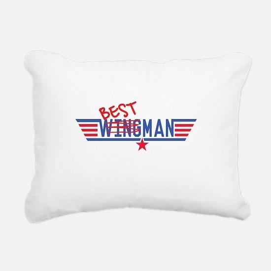 Best Man Rectangular Canvas Pillow