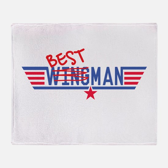 Best Man Throw Blanket