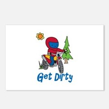 Get Dirty Postcards (Package of 8)