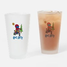 Get Dirty Drinking Glass