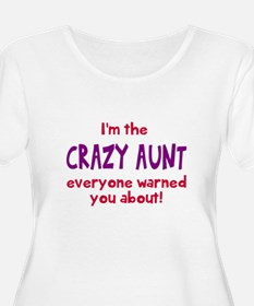 Crazy Aunt Plus Size T-Shirt