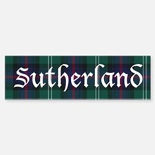 Tartan - Sutherland Bumper Bumper Sticker