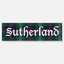 Tartan - Sutherland Sticker (Bumper)
