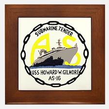USS Howard W. Gilmore (AS 16) Framed Tile