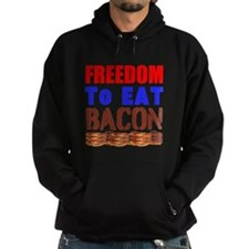 Freedom to Eat Bacon Hoodie