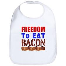 Freedom to Eat Bacon Bib