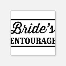 Brides Entourage Sticker