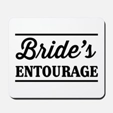 Brides Entourage Mousepad