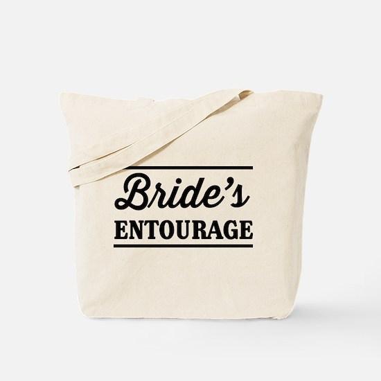 Brides Entourage Tote Bag