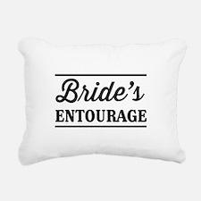 Brides Entourage Rectangular Canvas Pillow