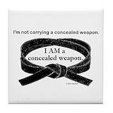 Black belt Drink Coasters