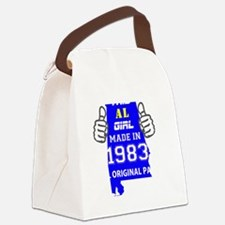 Cool Made in 1983 Canvas Lunch Bag