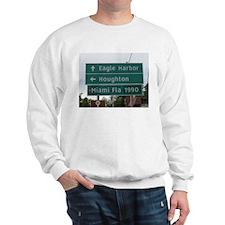 Miami, Fl sign Sweatshirt