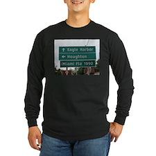Miami, Fl sign Long Sleeve T-Shirt