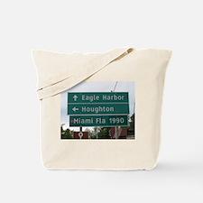 Miami, Fl sign Tote Bag
