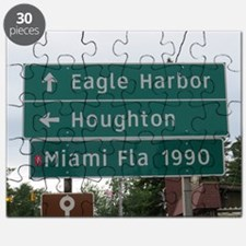 Miami, Fl sign Puzzle