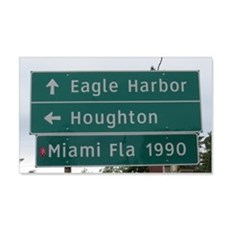 Miami, Fl sign Wall Decal