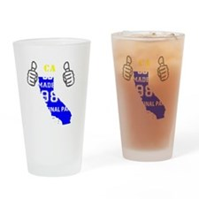 Unique Made in california Drinking Glass