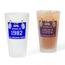 Cool 1982 Drinking Glass