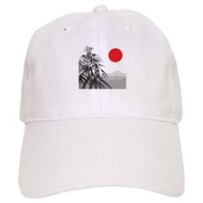 Asian Landscape Baseball Baseball Cap