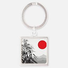 Asian Landscape Keychains
