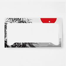 Asian Landscape License Plate Holder