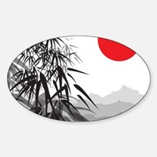 Asian Landscape Decal