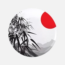 "Asian Landscape 3.5"" Button"