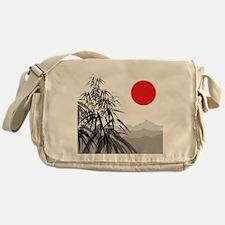 Asian Landscape Messenger Bag