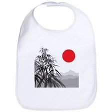 Asian Landscape Bib