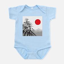 Asian Landscape Body Suit
