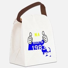 Funny Made in 1983 Canvas Lunch Bag