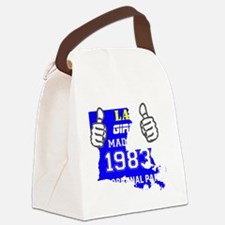 Made in 1983 Canvas Lunch Bag