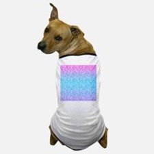Colorful Retro Glitter And Sparkles Dog T-Shirt