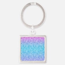 Colorful Retro Glitter And Sparkles Keychains