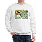 Irises & Cavalier Sweatshirt