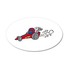 Dragster Wall Decal