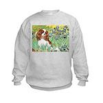 Irises & Cavalier Kids Sweatshirt