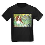 Irises & Cavalier Kids Dark T-Shirt