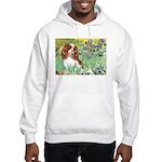 Irises & Cavalier Hooded Sweatshirt