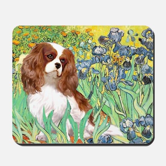 Irises & Cavalier Mousepad